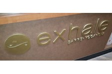 Exhale 3-D Plaque Sign in South Bay Manhattan Beach, CA