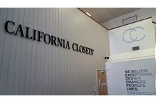 California Closets CA Dimensional Wall Graphics Stud Mount MedEx MDF Sign Installation Silver Viny