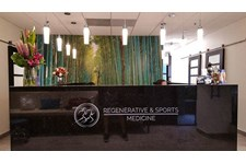 regenerative sports 3d 3 dimensional custom painted acrylic direct mount desk lobby printed logo